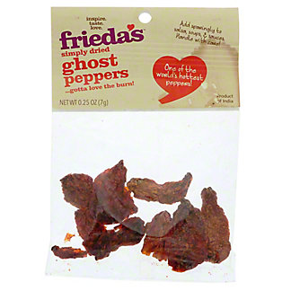 Frieda's Dry Ghost Peppers,.25 oz