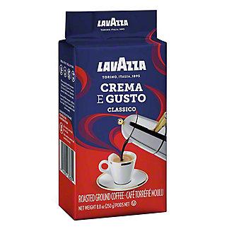 LavAzza Ground Dark Roast Crema E Gusto Coffee,8.8 OZ