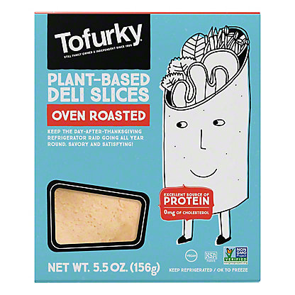 Tofurky Oven Roasted Deli Slices,5.5 OZ