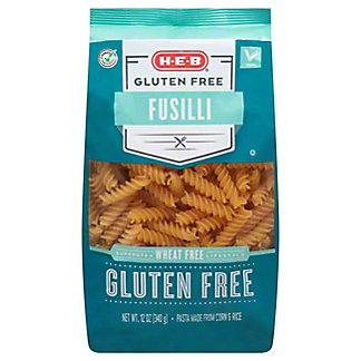 H-E-B Gluten Free Fusilli Pasta, 12 oz