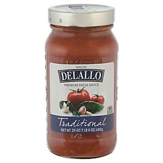 DeLallo Ultimate Sauce Collection Traditional Sauce,24 OZ