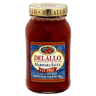 DeLallo Ultimate Sauce Collection Fat Free Marinara Sauce,24 OZ