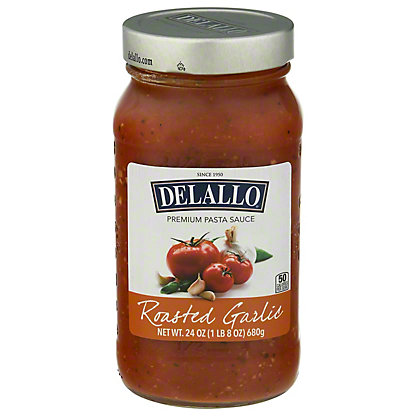 DeLallo Ultimate Sauce Collection Roasted Garlic Sauce,24 OZ
