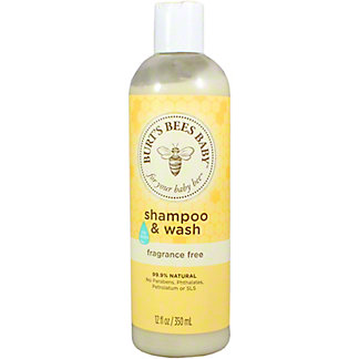 Burt's Bees Baby Bee Fragrance Free Shampoo & Wash, 12OZ