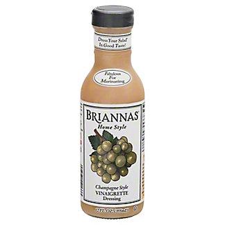 Brianna's Home Style Champagne Caper Vinaigrette Dressing,12 oz