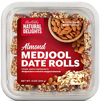 Bard Valley Almond Medjool Date Rolls, 12 oz