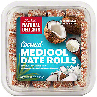 Bard Valley Coconut Medjool Date Rolls, 12 oz