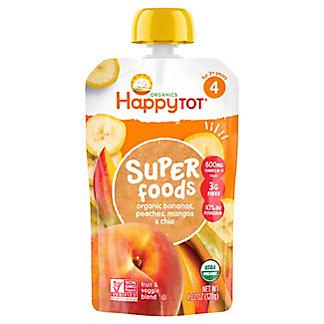 Happy Tot Superfoods Bananas, Peaches & Mangos,4.22 oz