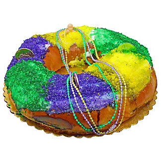 Central Market King Cake With Cream Cheese Filling, EACH