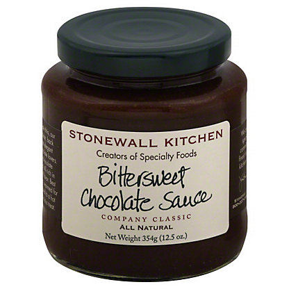 Stonewall Kitchen Bittersweet Chocolate Sauce,12.5 oz (345 g)