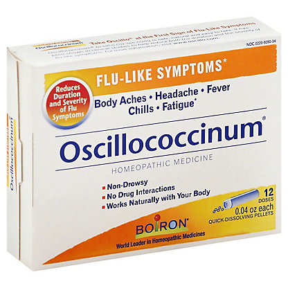 Boiron Oscillococcinum Quick-Dissolving Pellets Value Pack,12 CT