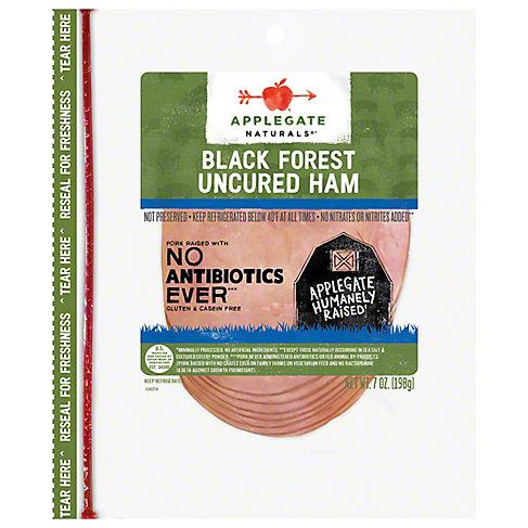 Applegate Naturals Uncured Black Forest Ham, 7 OZ