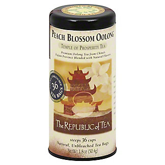 The Republic of Tea Peach Blossom Oolong Tea Bags,36 CT