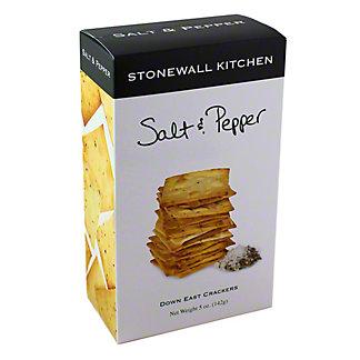 Stonewall Kitchen Salt & Pepper Crackers,5 OZ