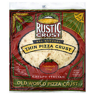 Rustic Crust All Natural Thin Pizza Crust,10 OZ