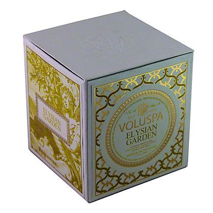 Voluspa Voluspa Box Candle Elysian Garden,12 OZ