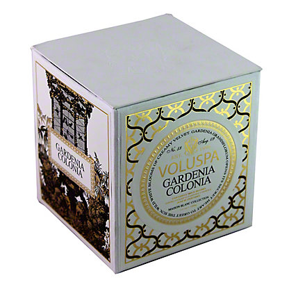 Voluspa Voluspa Box Candle Gardenia Colonia, 12 OZ