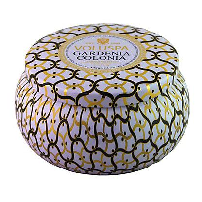 Voluspa Voluspa 2 Wick Tin Candle Gardenia Colonia,11 OZ