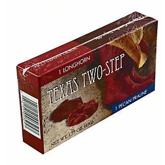 Lammes Texas Two Step Longhorn & Pecan Praline Candy, 1.75OZ