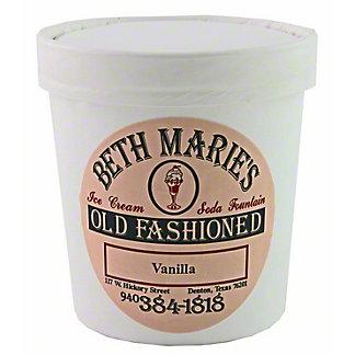 Beth Marie's Old Fashioned Vanilla Ice Cream, 16OZ