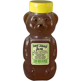 Some Honey Bear Pure Honey,12 OZ