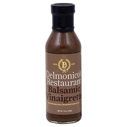 Delmonico's Restaurant Balsamic Vinaigrette,12 OZ