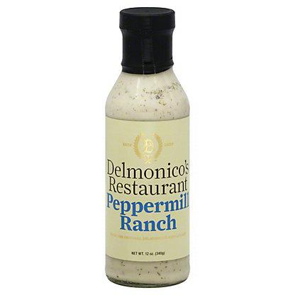 Delmonico's Restaurant Peppermill Ranch Dressing,12 OZ