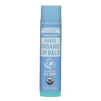Dr. Bronner's Naked Organic Lip Balm,0.15 OZ