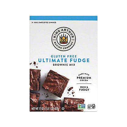 King Arthur Gluten Free Brownie Mix, 17 oz