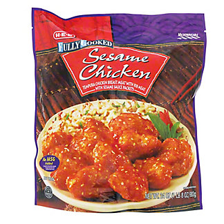 H-E-B Fully Cooked Sesame Chicken, 24 oz