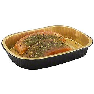Fresh Sweet Herb Atlantic Salmon Portion, Farm Raised, ea