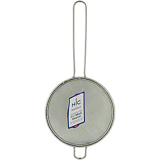 Harold Import Strainer Stainless Steel, Ea