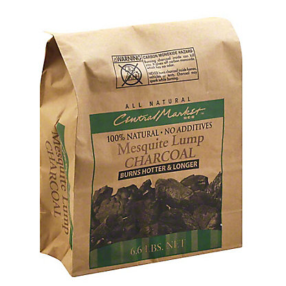 Central Market Mesquite Lump Charcoal,6.6 LBS