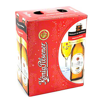 Konig Pilsener 6 PK Bottles,12 OZ
