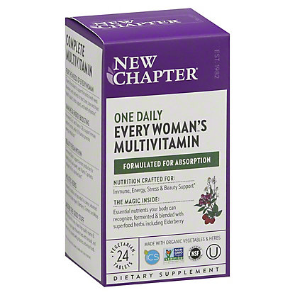 New Chapter Organics Every Woman's One Daily, 24 ct