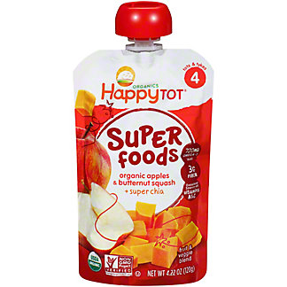 Happy Tot Superfoods Apples & Butternut Squash,4.22 oz