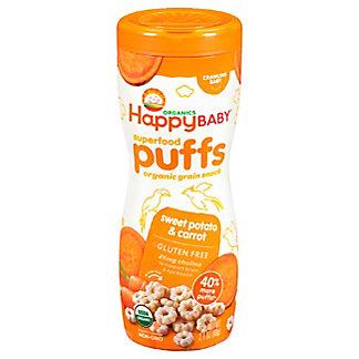 Happy Baby Organics Sweet Potato Puffs, 2.1 oz
