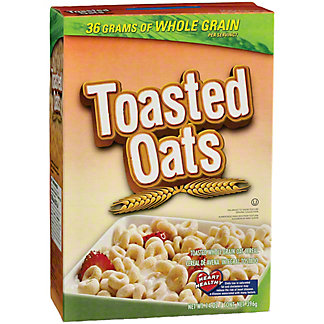 H-E-B Toasted Oats Cereal, 14 oz