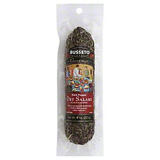 Busseto Gourmet Black Pepper Dry Salami,8 OZ