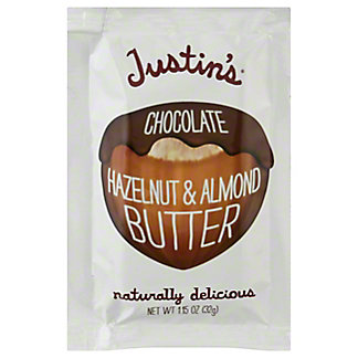 Justin's Chocolate Hazelnut Butter Blend Squeeze Pack, 1.15 oz
