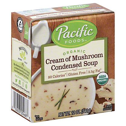 Pacific Foods Organic Condensed Cream of Mushroom Soup, 12 oz