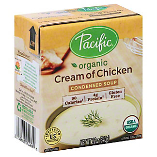 Pacific Foods Organic Condensed Cream of Chicken Soup, 12 oz