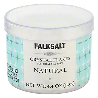 Falksalt Natural Sea Salt Crystal Flakes,4.4OZ
