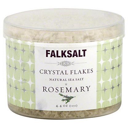 Falksalt Crystal Flakes Rosemary Natural Sea Salt, 4.40 oz