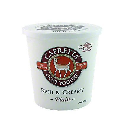 Sierra Nevada Capretta Rich & Creamy Plain Goat Yogurt,24 OZ