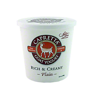 Sierra Nevada Capretta Rich & Creamy Plain Goat Yogurt,24 OZ
