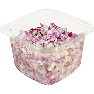 Central Market Diced Red Onions, lb