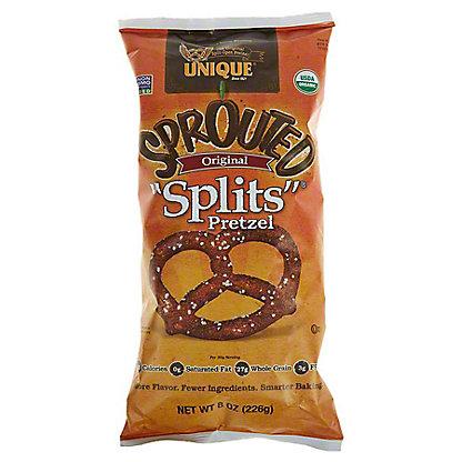 Unique Essential Eating Pretzels Sprouted Whole Grain Splits, 8.0 OZ