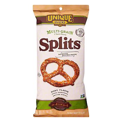 Unique Pretzels, Splits, Multi-Grain, 11.0OZ