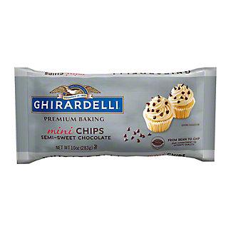 Ghirardelli Mini Semi-Sweet Chocolate Premium Baking Chips, 10 oz